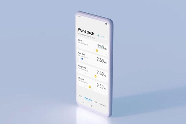 """Giao diện mới của smartphone LG """"lấy cảm hứng"""" từ Samsung?"""
