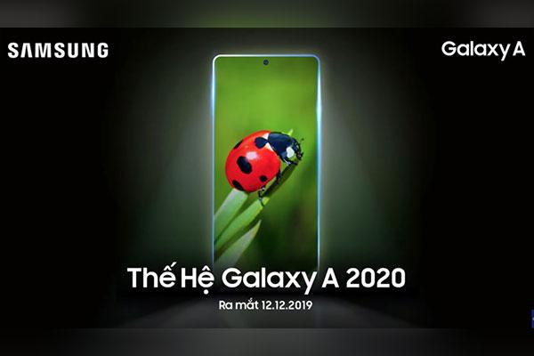 Samsung ra mắt Galaxy A 2020 vào 12/12