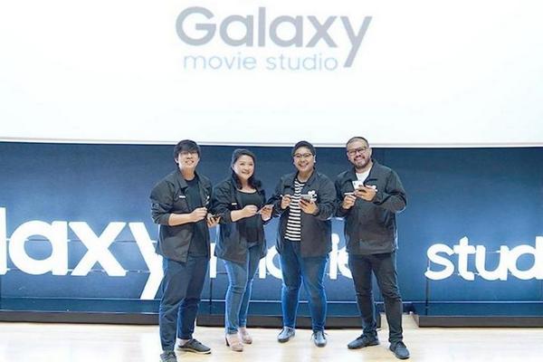 Samsung tham vọng gì với dự án làm phim Galaxy Movie Studio cho smartphone Galaxy?