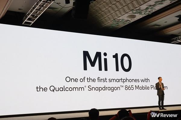 Xiaomi Mi 10 sẽ là chiếc smartphone đầu tiên được trang bị Snapdragon 865