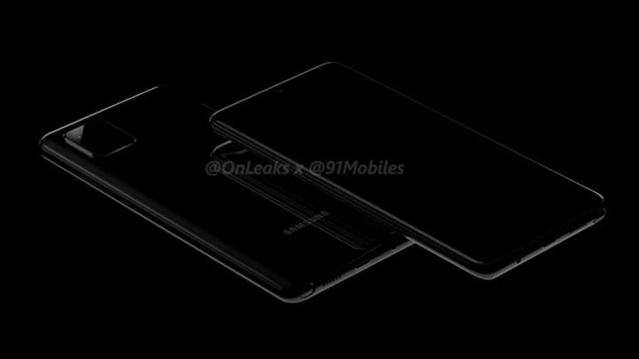 Samsung Galaxy Note10 lite (A81) lộ diện ảnh render