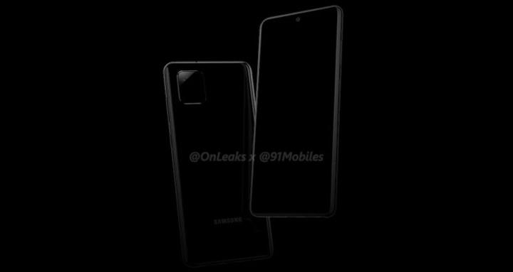 Render Galaxy Note 10 Lite (Nguồn: @OnLeaks)