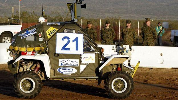 Quân đội Mỹ là những người đầu tiên quan tâm đến Lidar (Nguồn: Getty Images)