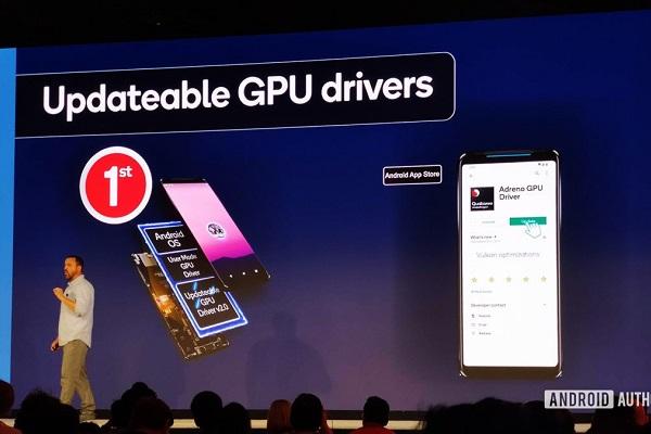 Qualcomm sẽ cho phép cập nhật driver GPU thông qua Play Store