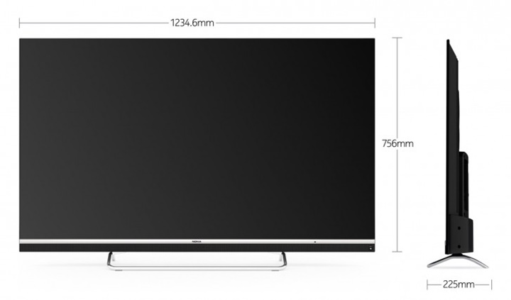 TV thông minh Nokia (Ảnh: GSMARenna)