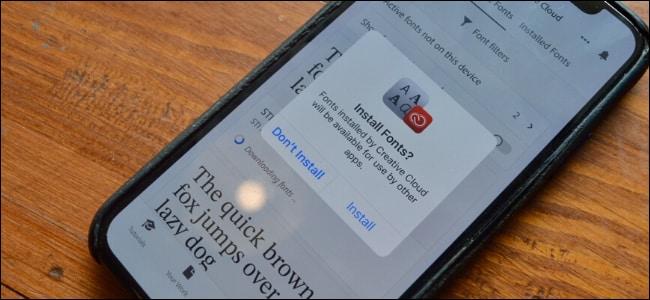 Cách cài đặt font chữ ngoài lên iPhone và iPad chạy iOS 13