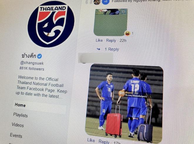 Fanpage bóng đá Thái Lan chặn dân mạng Việt Nam sau trận thua của tuyển nữ