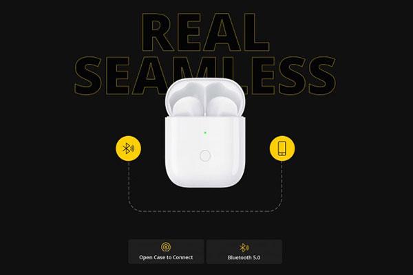 Realme sắp ra tai nghe true-wireless giống hệt AirPods