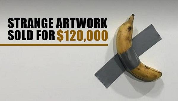 Nghệ sỹ không hối tiếc khi thản nhiên ăn quả chuối giá gần 2,8 tỷ đồng