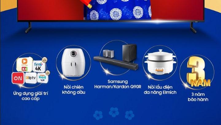 Samsung bán TV 65 inch với giá TV 55 inch, 55 inch giá 49 inch… dịp Tết