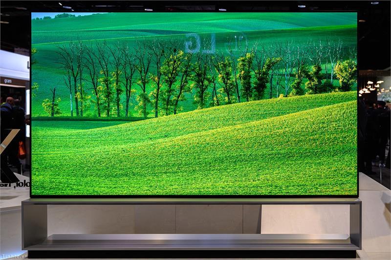 LG bán ra TV OLED 8K tại Nhật, nỗ lực cạnh tranh với Sony đang dẫn đầu