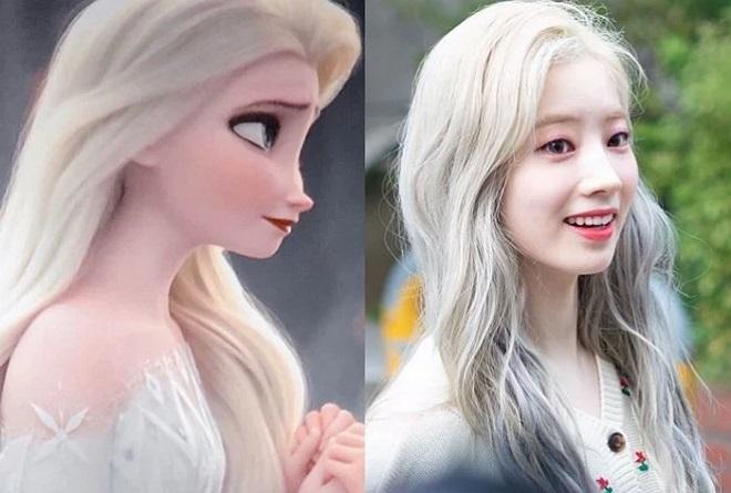 """Hình ảnh """"Nữ hoàng băng giá"""" Elsa hiện thân ngoài đời thực khiến người xem ngỡ ngàng"""