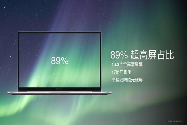 RedmiBook 13 ra mắt: ultrabook mỏng nhẹ, chip Intel thế hệ thứ 10, giá chỉ từ 13 triệu đồng