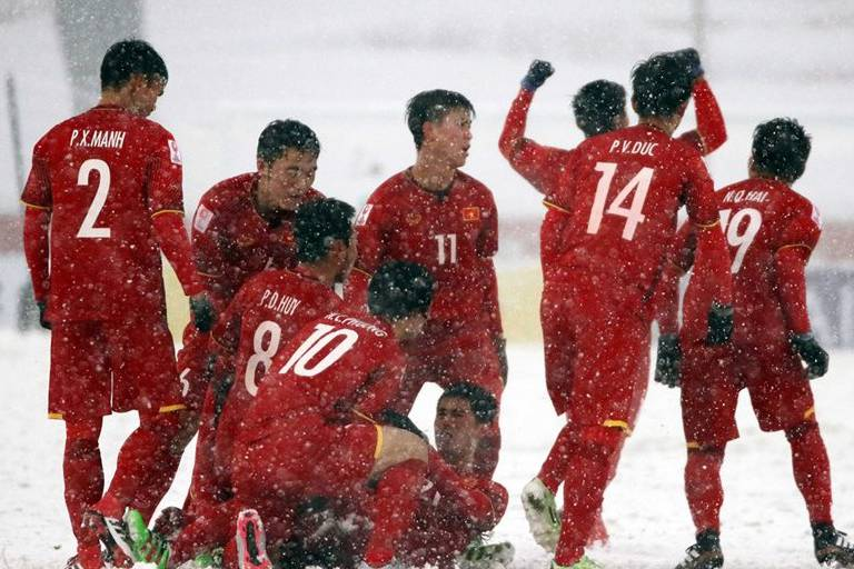 Lịch thi đấu U23 châu Á: Danh sách U23 Việt Nam không có Văn Hậu