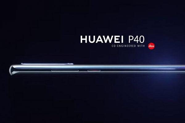 Xuất hiện ảnh đầu tiên của Huawei P40 với màn hình cong 6.57 inch
