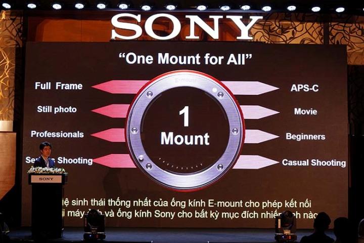 """Ngàm E-Mount và tham vọng """"nhất thể hóa"""" hệ sinh thái máy ảnh mirrorless của Sony"""