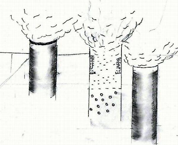 Tĩnh điện giúp làm khí thải từ nhà máy sạch hơn (Ảnh: Muhammed Ibrahim)