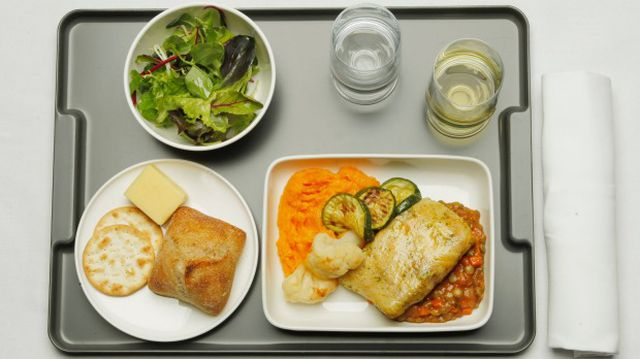 suất ăn của phi công