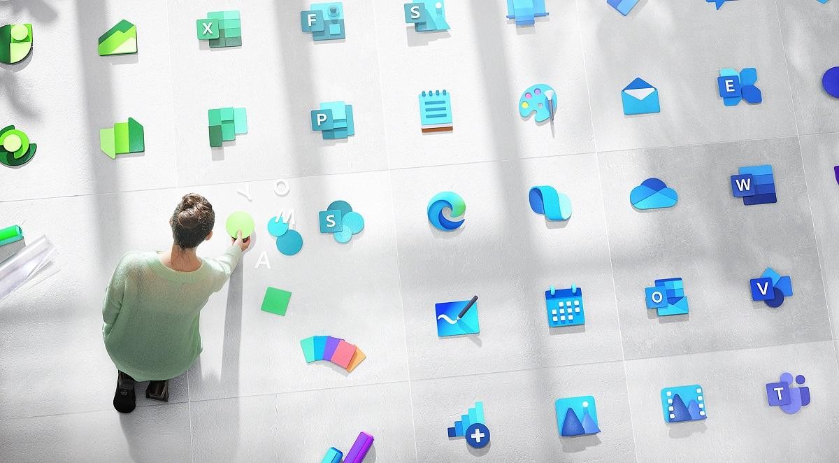 Logo công bố thiết kế logo Windows mới cùng 100 biểu tượng ứng dụng hiện đại