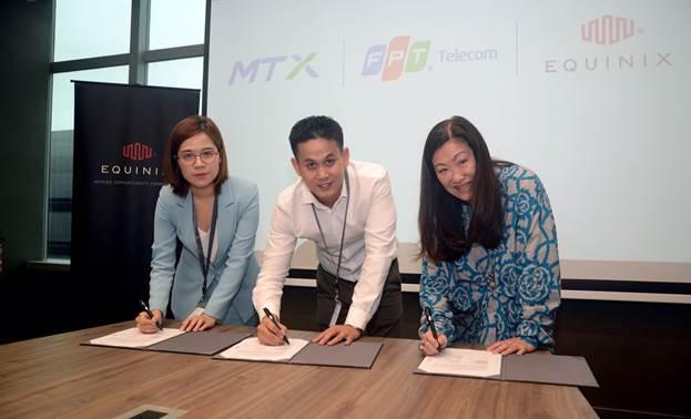 FPT Telecom trở thành đối tác chiến lược của hãng trung tâm dữ liệu Equinix