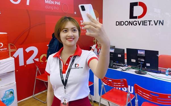 Samsung Galaxy A51: Màn hình tràn viền, 4 camera sau, đặt trước nhận nhiều ưu đãi tại Di Động Việt