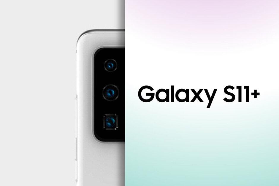 Hình ảnh này hé lộ cho chúng ta thấy camera Galaxy S11 trông như thế nào, có ống kính zoom tiềm vọng