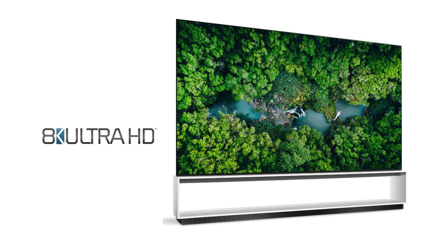 LG có TV đầu tiên trên thế giới đạt chứng nhận '8K Ultra HD'