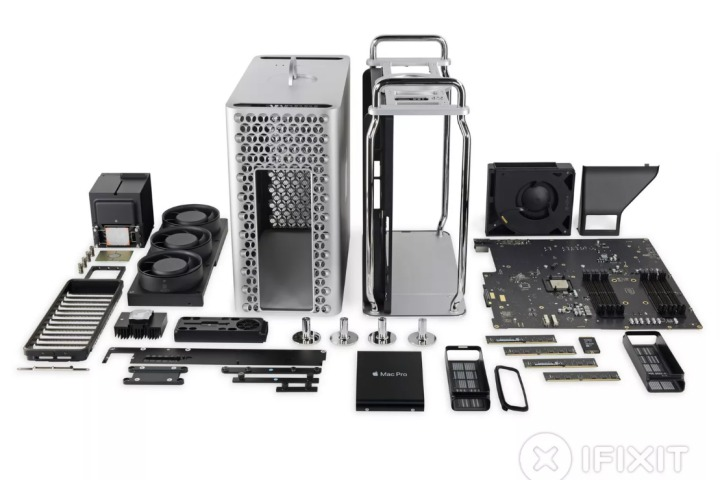 Mac Pro mới là thiết bị dễ sửa nhất Apple từng tung ra trong nhiều năm qua