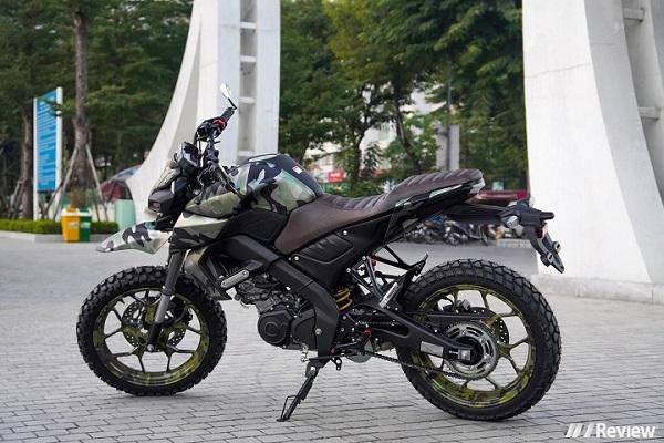 Yamaha MT-15 độ theo phong cách Cào cào