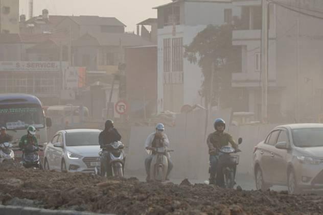 Yêu cầu xe ngoại tỉnh rửa sạch trước khi vào Hà Nội để hạn chế ô nhiễm không khí?