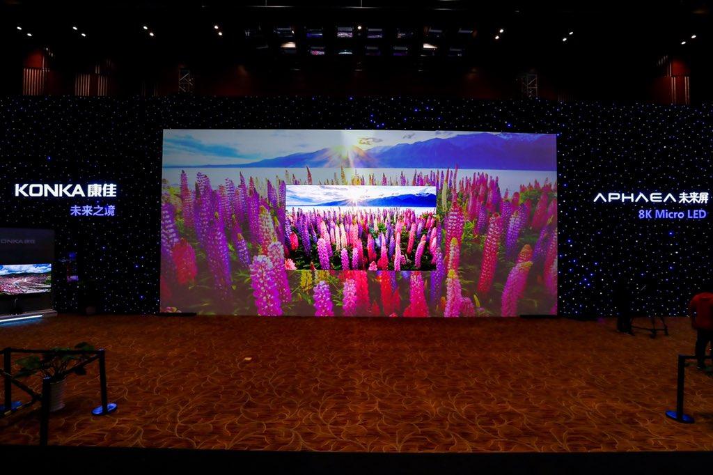 Hãng Trung Quốc ra TV microLED 8K giá 29 tỷ đồng, cạnh tranh Samsung The Wall