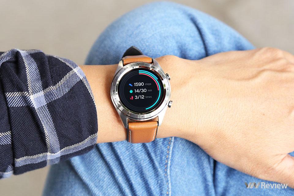 Đánh giá Honor Watch Magic: smartwatch đẹp mạnh về theo dõi vận động, pin trâu, giá mềm