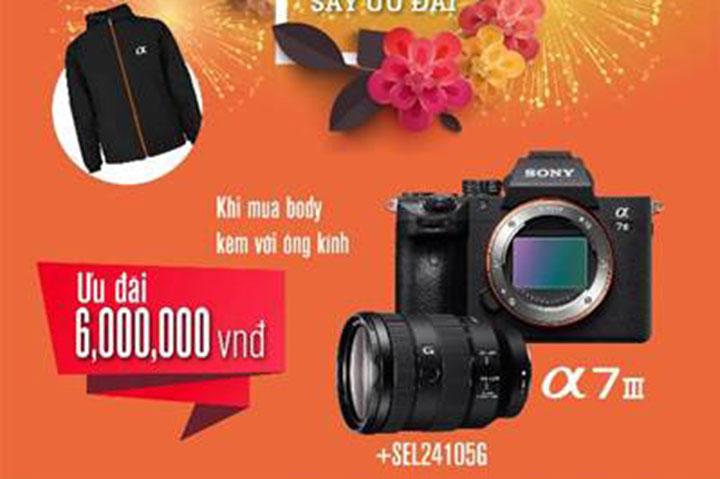 Sony lần duy nhất năm giảm 2-6 triệu đồng giá máy ảnh và ống kính ở Việt Nam