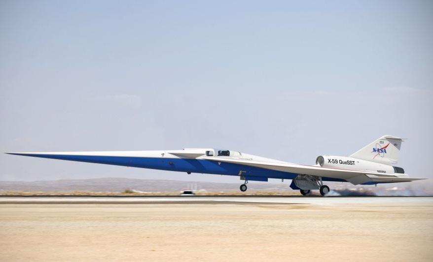 X-59 Quiet SuperSonic Technology (Ảnh: NASA)