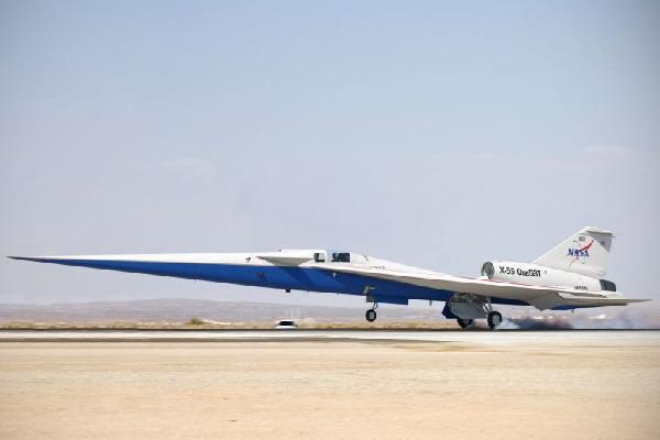 NASA đang lắp ráp máy bay siêu thanh có thể vượt tường âm thanh mà không gây ra tiếng nổ siêu thanh