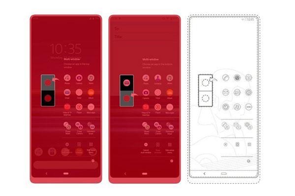 Sony sắp ra smartphone màn đục lỗ?
