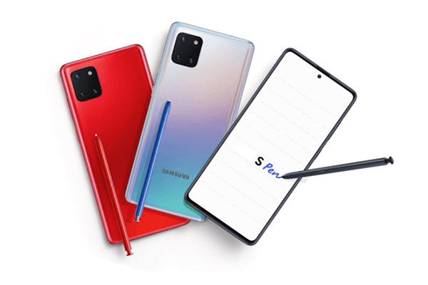 Galaxy Note 10 Lite lộ thông số trước ngày ra mắt