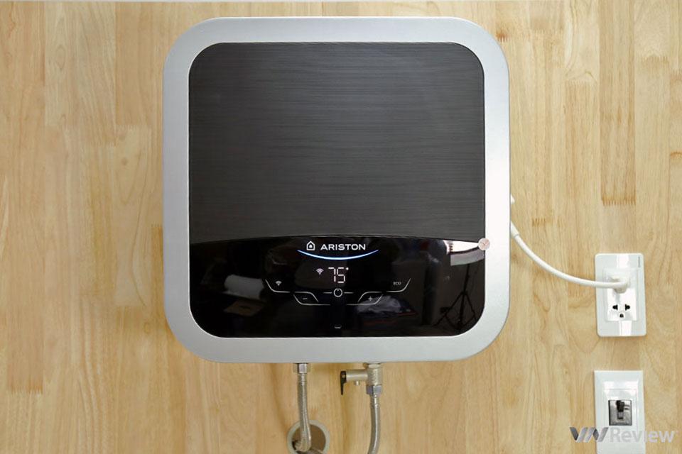 Đánh giá Ariston Andris2 Top Wi-Fi: Wi-Fi thay đổi hoàn toàn cách tôi dùng bình nước nóng