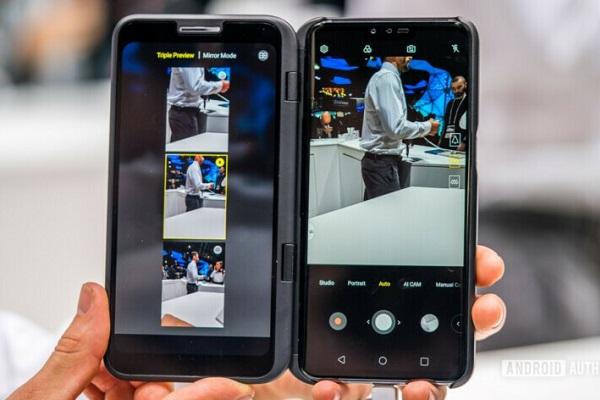 LG sẽ giới thiệu V60 ThinQ tại MWC 2020, màn hình thứ 2 sẽ được nâng cấp