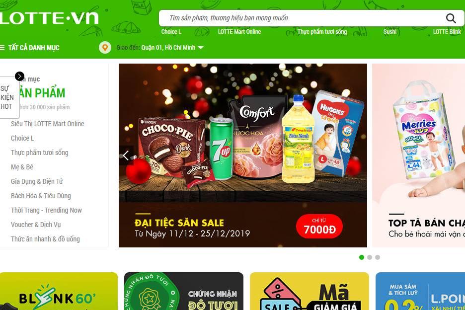 Sau Adayroi, đến lượt trang thương mại điện tử của Lotte Việt Nam ngừng hoạt động?