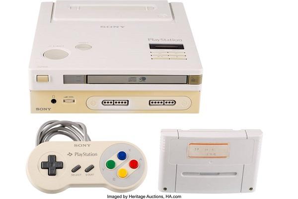 """Bản prototype """"Nintendo Play Station"""" cực hiếm sắp lên sàn đấu giá"""
