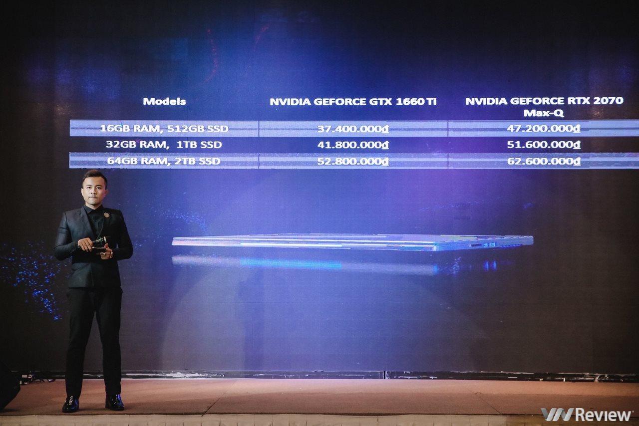 Intel hợp tác cùng VGS ra mắt máy tính gaming mỏng nhẹ mác Việt VGS Imperium: CPU Intel i7 9750H, màn hình 144Hz, GPU 1660Ti hoặc RTX 2070 Max Q, giá từ 37,4 triệu đồng
