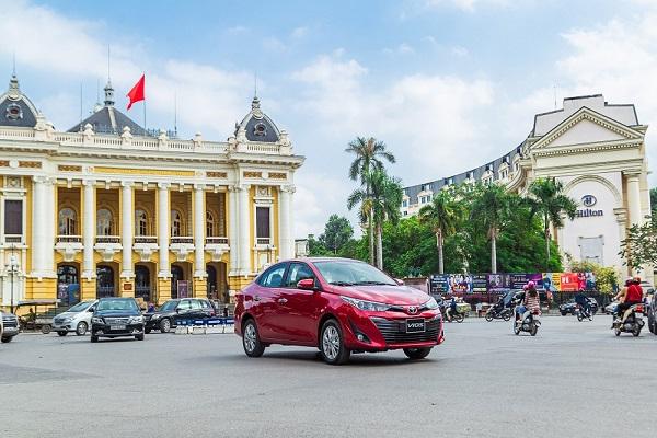 Toyota Vios 2020 ra mắt tại Việt Nam