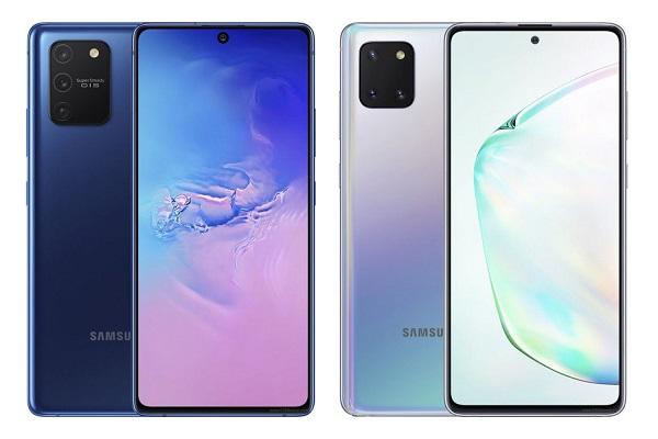 Samsung chính thức ra mắt Galaxy S10 Lite và Galaxy Note 10 Lite, giá từ 15,5 triệu đồng