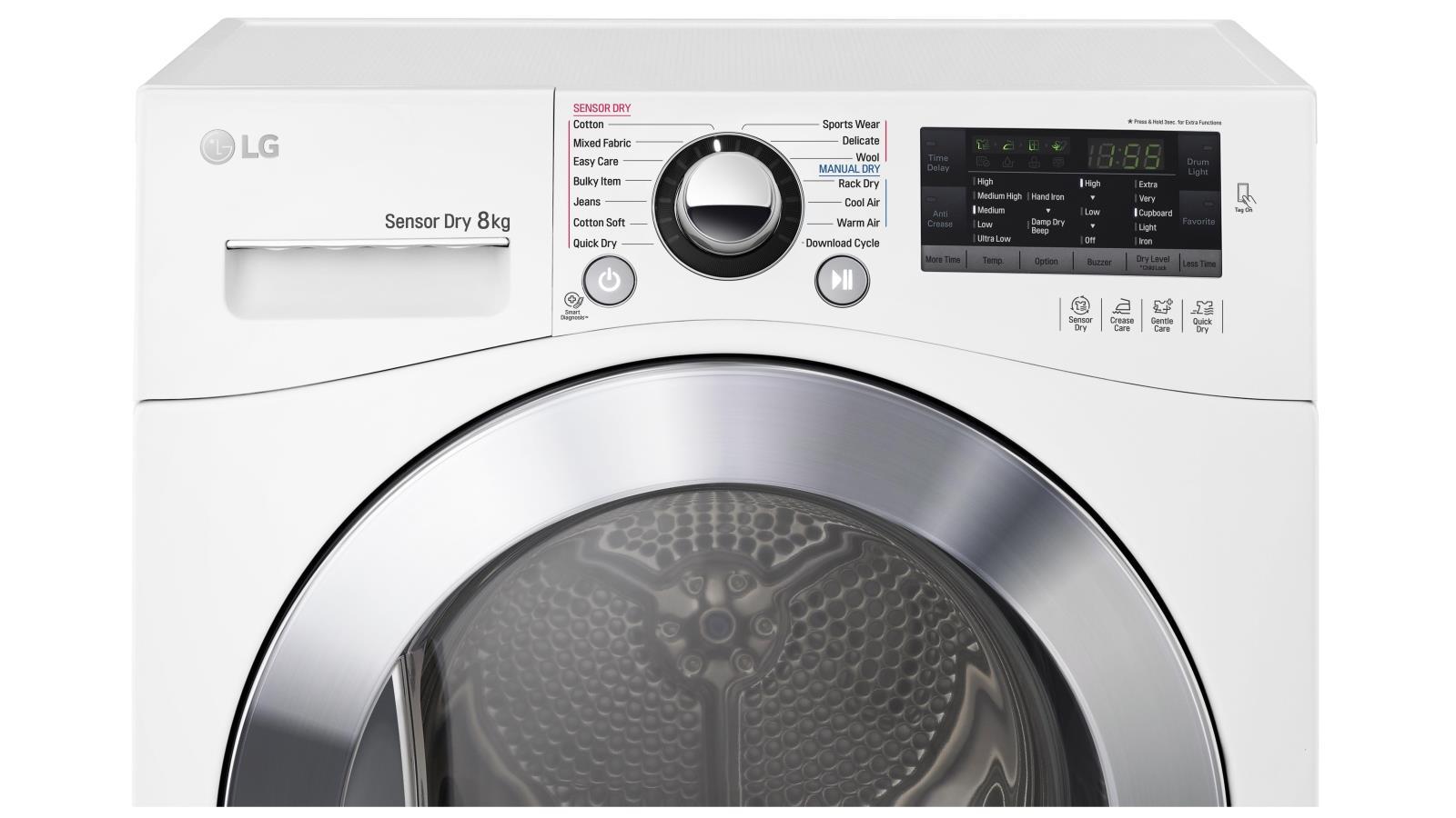 LG gặp rắc rối vì quảng cáo sai sự thật về máy sấy quần áo