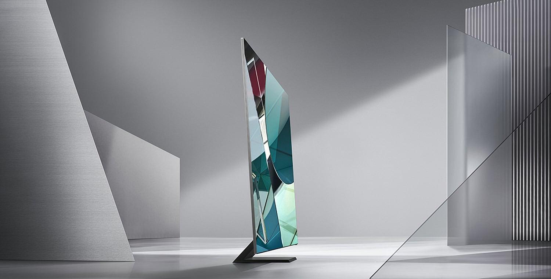 Samsung ra TV 8K siêu mỏng chỉ 1,5cm, thiết kế không viền màn hình