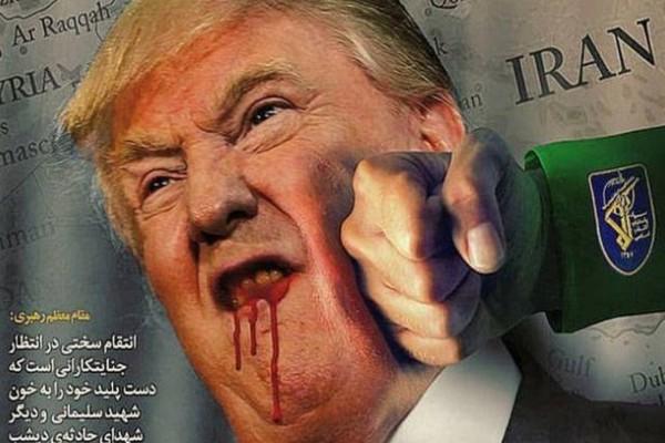 Website thuộc chính phủ Mỹ bị hacker nghi của Iran tấn công, để lại hình ảnh bêu riếu ông Trump