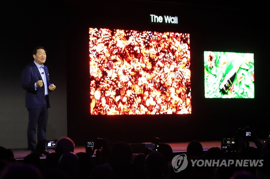 Samsung xác nhận sẽ bán TV microLED cho các hộ gia đình cuối năm nay