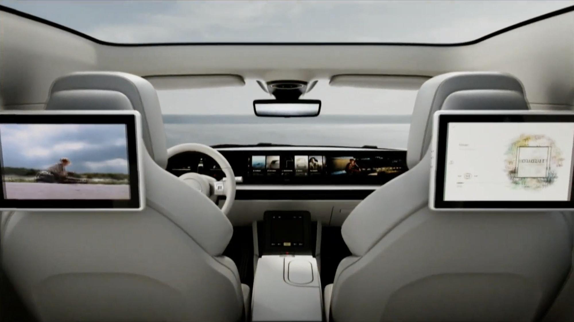 Sony bất ngờ công bố mẫu xe điện mới Vision-S tại CES 2020