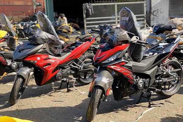 Bộ đôi Exciter 150 và Winner 2020 phiên bản Indonesia về Việt Nam